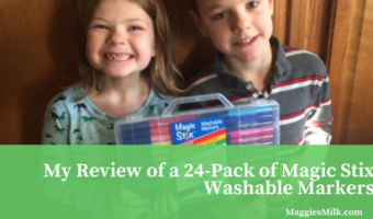 My Review of a 24-Pack of Magic Stix Washable Markers
