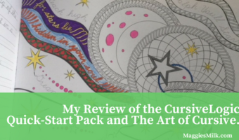 A Review of the CursiveLogic Quick-Start Pack and The Art of Cursive