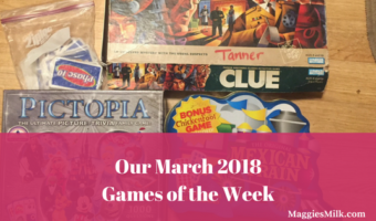 Our March 2018 Games of the Week
