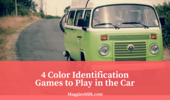 4 Car Games to Practice Color Identification