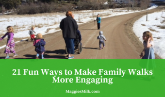 21 Fun Ways to Make a Family Walk More Engaging