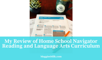 My Review of Home School Navigator Reading and Language Arts Curriculum