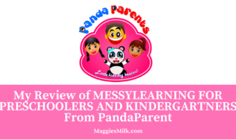 My Review of MESSYLEARNING for Preschoolers and Kindergartners