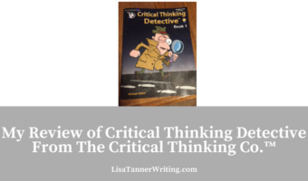 My Review of Critical Thinking Detective Book 1