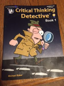 critical thinking detective book 1