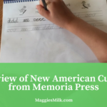 My Review of New American Cursive 1 From Memoria Press