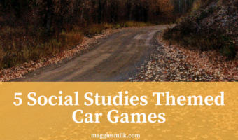 5 Social Studies Themed Car Games