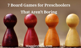7 Board Games for Preschoolers You'll Enjoy Playing