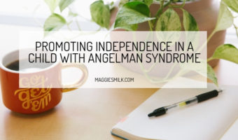 Promoting Independence in a Child with Angelman Syndrome