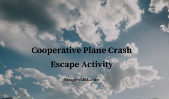 Cooperative Plane Crash Escape Activity