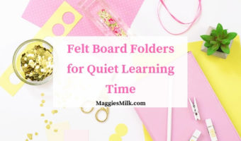 Felt Board Folders for Quiet Learning Time