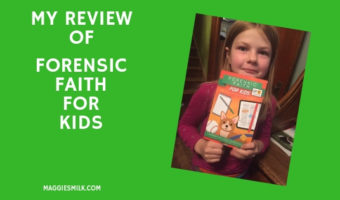 My Review of Forensic Faith for Kids