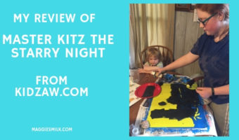 My Review of Master Kitz The Starry Night from Kidzaw.com