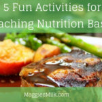 Teaching nutrition with fun activities