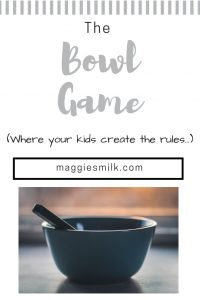 Play the game where your kids create the rules. #creativekids #fungames