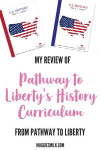 Review of Pathway to Liberty's History Curriculum