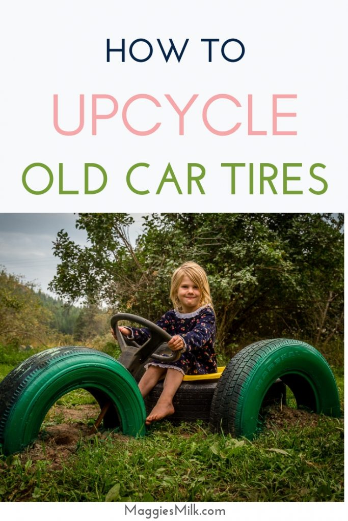 How To Upcycle Old Car Tires