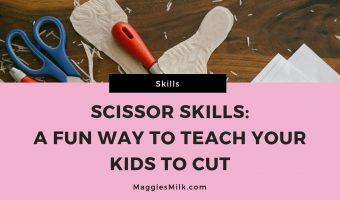 teach scissor skills